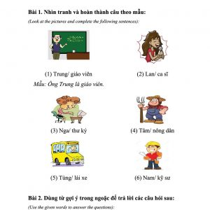 Trang 4 sách bài tập Tiếng Việt 123