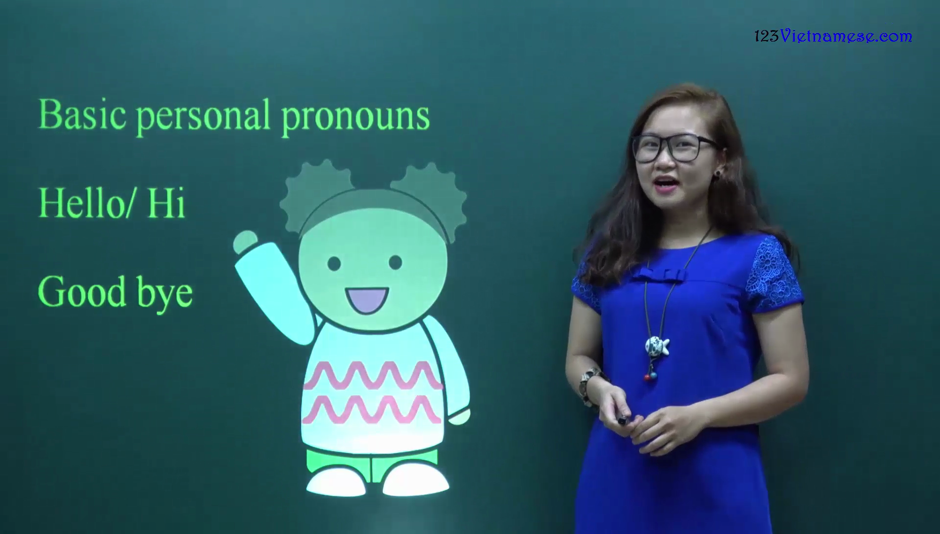 #4 Personal pronouns & How to say hello, goodbye in Vietnamese