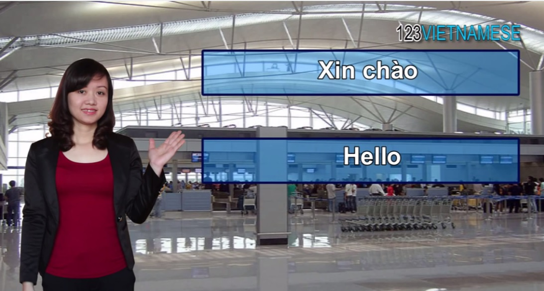 Lesson1: How to say Hello in Vietnamese