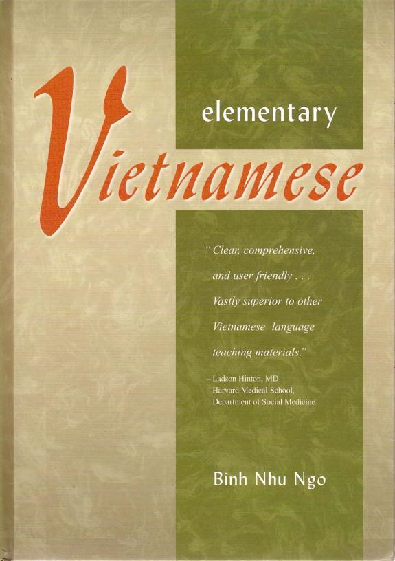 Elementary Vietnamese Binh Nhu Ngo