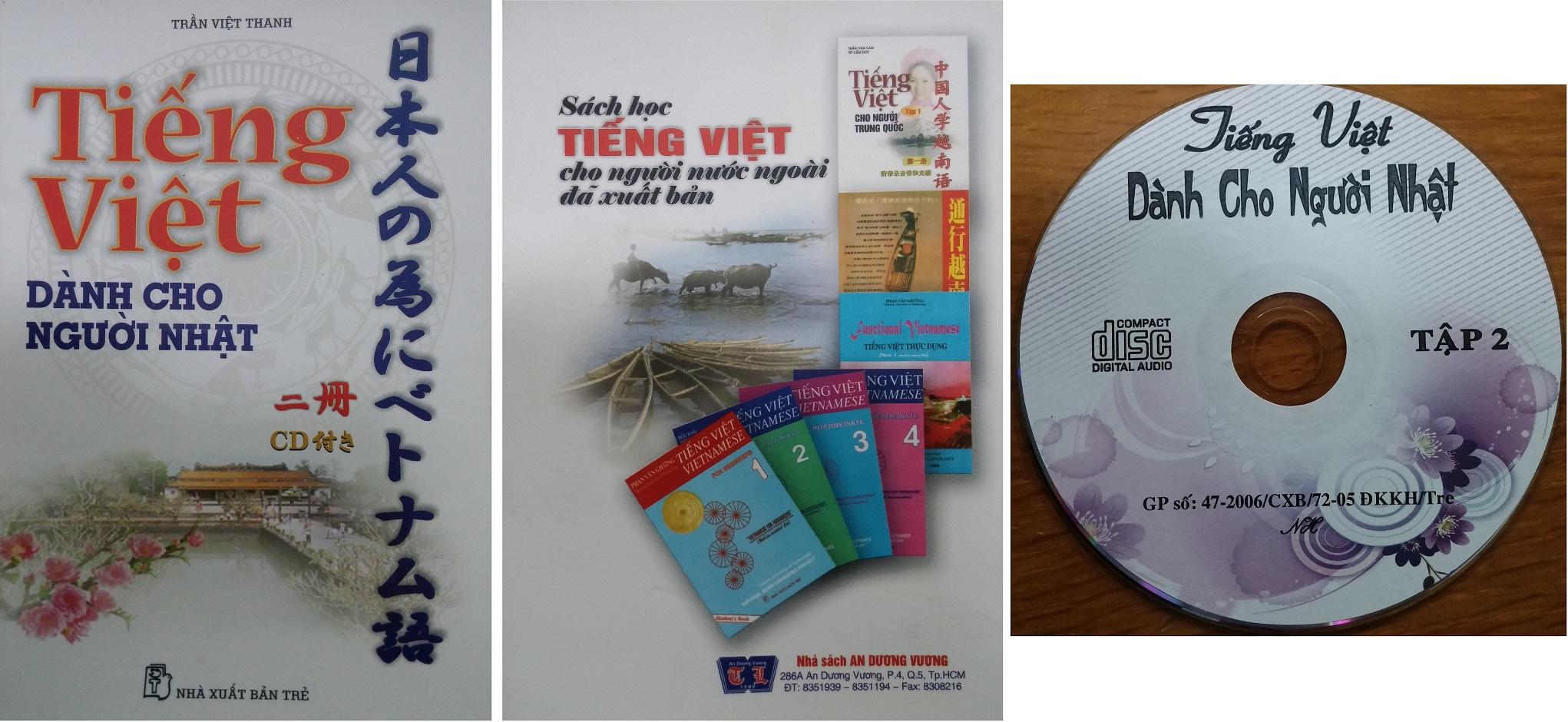 Sách học tiếng Việt cho người Nhật